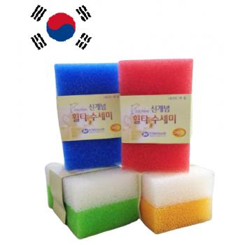 Korea Imitation Loofah Kitchen Sponge 韩国丝瓜洗碗块 (2pcs)