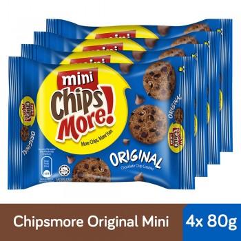 Chipsmore Original Cookies (80g x 4)