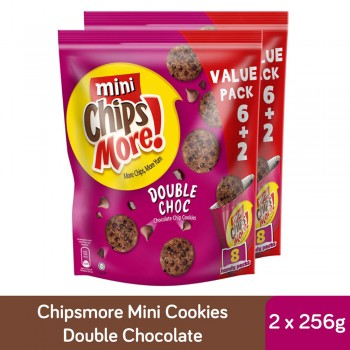 Chipsmore Double Chocolate Handy (224g x 2)