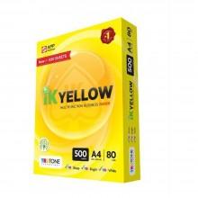 Ik Yellow A4 80gsm 500sheet's