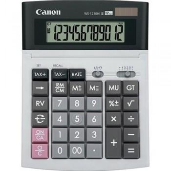 Canon Calculator WS-1210Hi III - 12-Digit Desktop Calculator, Tax Calculation, IT Touch Keyboard