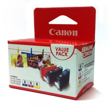 Canon CLI-8 Color Value Pack Ink Cartridge