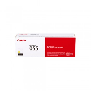 Canon 055 Yellow Toner Cartridge 2.3k