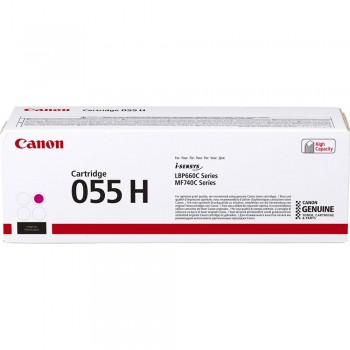 Canon 055H Magenta Toner Cartridge 5.9k