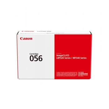 Canon 056 Toner Cartridge - Black, 10k