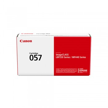 Canon 057 Toner Cartridge - Black, 3.1k