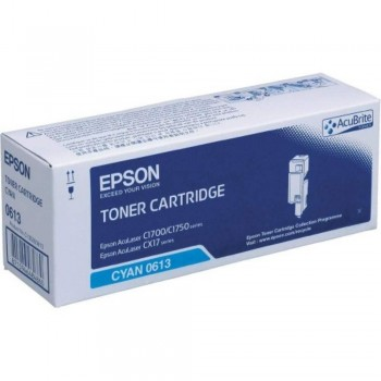 Epson SO50613 Cyan (High Cap) Toner Cartridge (Item No:EPS SO50613)