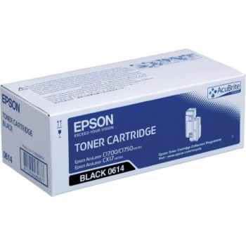 Epson SO50614 Black High Cap Toner Cartridge (Item No: EPS SO50614)