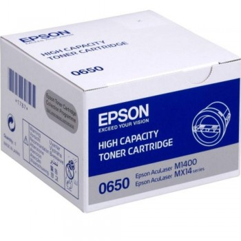 Epson SO50650 High Capacity Toner Cartridge - Black (Item No: EPS SO50650)