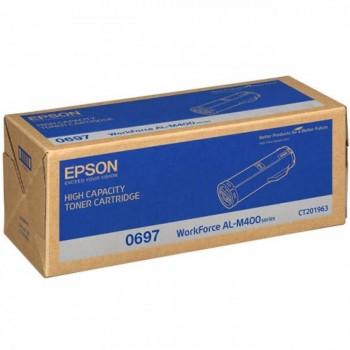 Epson SO50697 High Cap Black Toner Cartridge (Item No:EPS SO50697)
