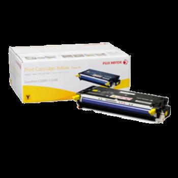 Xerox C2200 C3300 Yellow Toner Cartridge HIGH - 9k (Item No: XER DPC2200 YEL)