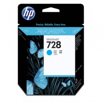 HP 728 40-ml Cyan DesignJet Ink Cartridge (F9J63A)