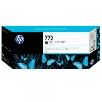 HP 772 DesignJet Ink Cartridge 300-ml - Matte Black (CN635A)