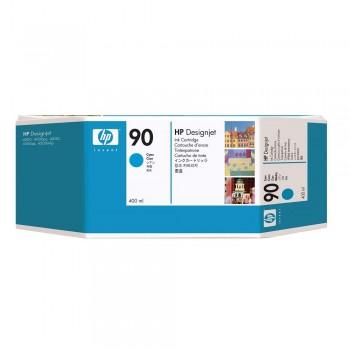 HP 90 3-pack 400-ml Cyan Ink Cartridges (C5083A)