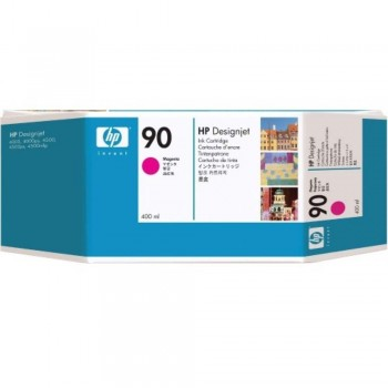 HP 90 DesignJet Ink Cartridge (3-pack) 400-ml - Magenta (C5084A)