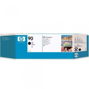 HP 90 DesignJet Ink Cartridge (3-pack) 775-ml - Black (C5095A)