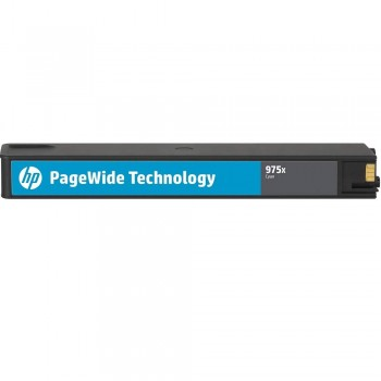 HP 975X Cyan Original PageWide Cartridge (L0S00AA)