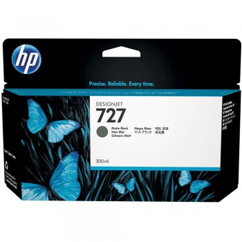 HP 727 300-ml Matte Black DesignJet Ink Cartridge (C1Q12A)