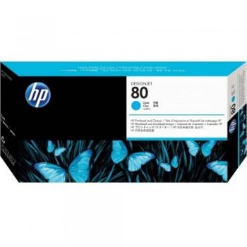 HP 80 DesignJet Printhead/Printhead Cleaner - Cyan (C4821A)