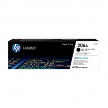 HP 206A Black Original LaserJet Toner Cartridge (W2110A)
