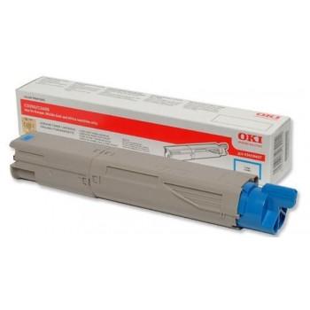 OKI C3300 Cyan Toner Cartridge 43459455 (Item No: OKI C3300C 1.5K)