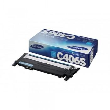 Samsung CLT-C406S Cyan Toner Cartridge (Item No: SG CLT-C406S)