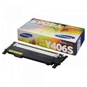 Samsung CLT-Y406S Yellow Toner Cartridge (Item No: SG CLT-Y406S)