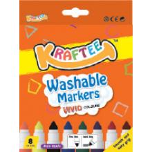 Kraftee 8ct Washable Markers