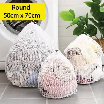 Multi-purpose Laundry Bag Round 50cm x 70cm