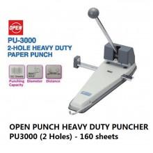 OPEN Puncher PU-3000 2 Hole (1~160 sheets)