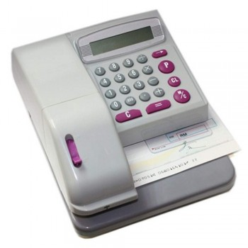 Electronic Checkwriter - 14 Digit Printing 16 Currencies Printing (Item No: G02-01) A7R1B45