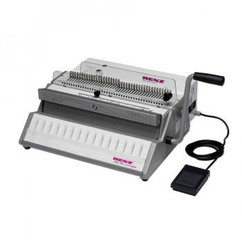 RENZ SRW 360 ComfortPlus Electric Wire O Punching & Manual Binding Machine Type 3:1 pitch