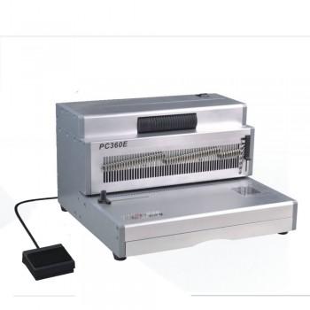SUPU PC360EX Electric Spiral Coil Punching & Inserting Machine