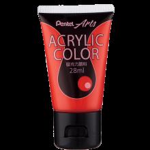 Pentel Acrylic Colour 28ml Vermilion (T10)