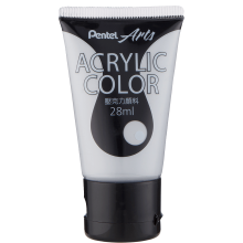 Pentel Acrylic Colour 28ml Gray (T26)