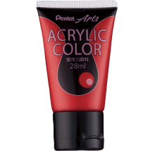 Pentel Acrylic Colour 28ml Crimson (T60)
