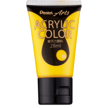 Pentel Acrylic Colour 28ml Deep Yellow (T62)
