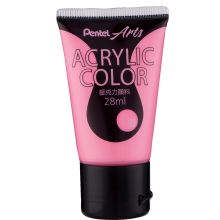 Pentel Acrylic Colour 28ml Pink (T66)