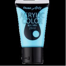 Pentel Acrylic Colour 28ml Aqua Blue (T76)
