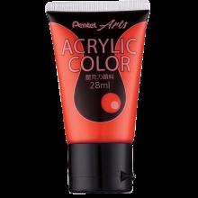 Pentel Acrylic Colour 28ml Scarlet (T37)