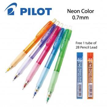 Pilot Super Grip Neon mechanical pencil with Lead 0.7mm (Random Color)