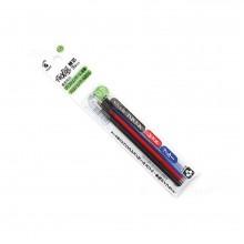 Pilot Frixion Ball Multi Pen Refill 3 colors set 0.5mm (3pc/pkt)