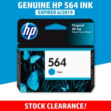 [CLEARANCE] Original HP 564 Cyan Ink Cartridge - Genuine HP Ink CB318WA CB318A CB318 Color Ink (300 Pages)
