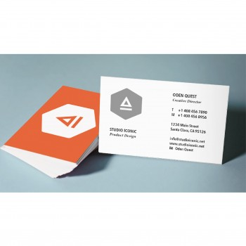 Business Card / Thank you card (100pcs/box) - Color + B/W