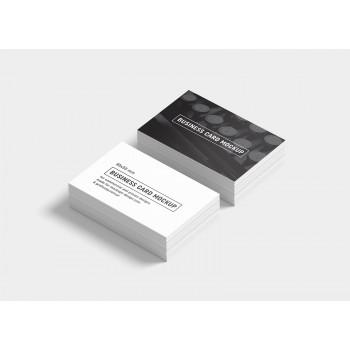 Business Card / Thank you card (100pcs/box) - 2 Side B/W
