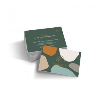 Business Card / Thank you card (100pcs/box) - 2 Side Color