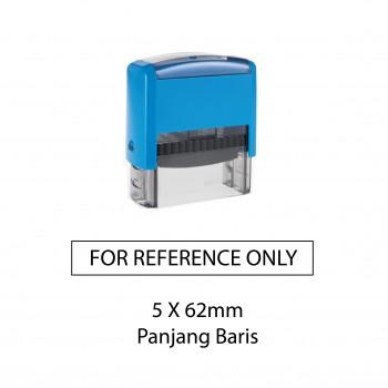 Custom Made Stamp - Self-inking type 5x62mm (panjang baris)