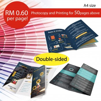 Printing / Photostate Color Double Side - A4 Size
