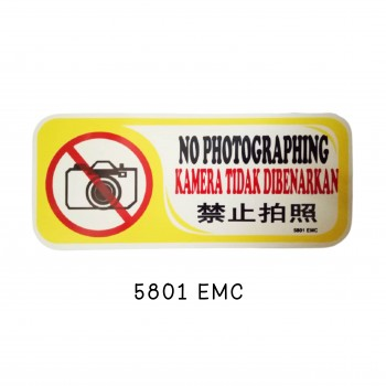 Sign Board 5801EMC ( NO PHOTOGRAPHING)