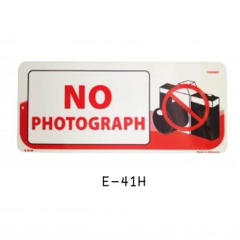 Sign Board E-41H (NO PHOTOGRAPH)
